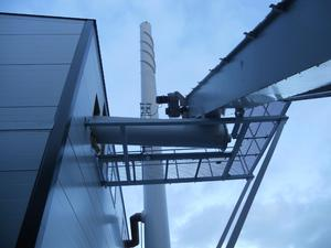 Heat supply plant in Finland 3